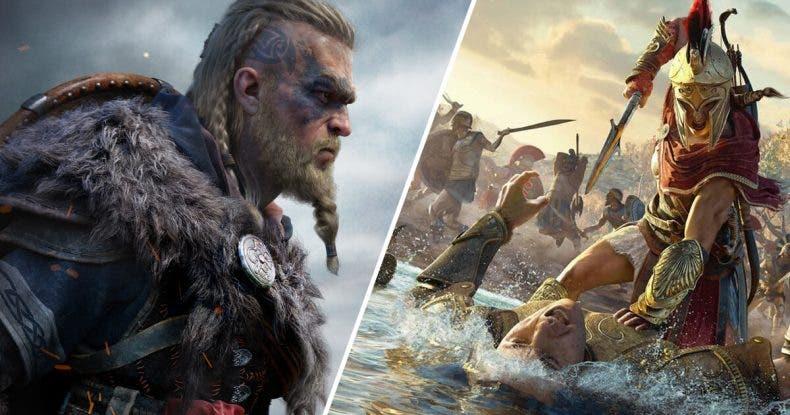 Assassin's Creed Valhalla dobla en jugadores a Odyssey en su día de lanzamiento