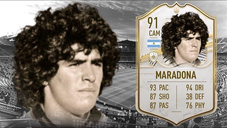 El precio de Maradona en FIFA 21 se dispara tras su muerte 1