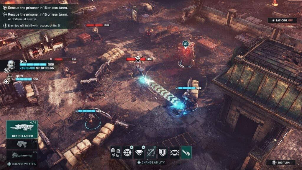 Análisis de Gears Tactics - Xbox Series X|S 3