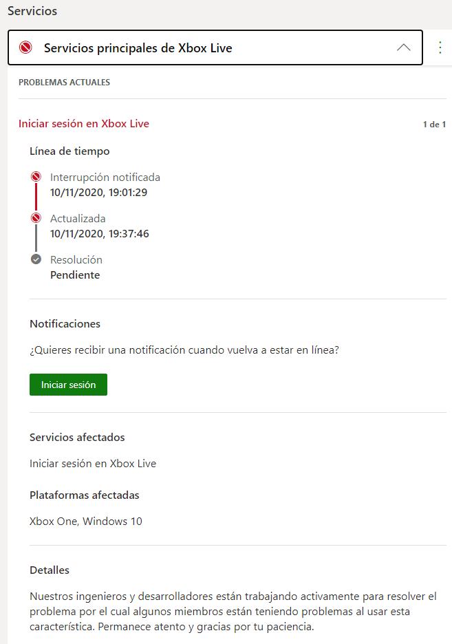 [ACTUALIZACIÓN] Xbox Live tiene problemas de conexión en pleno lanzamiento de Xbox Series X/S 2
