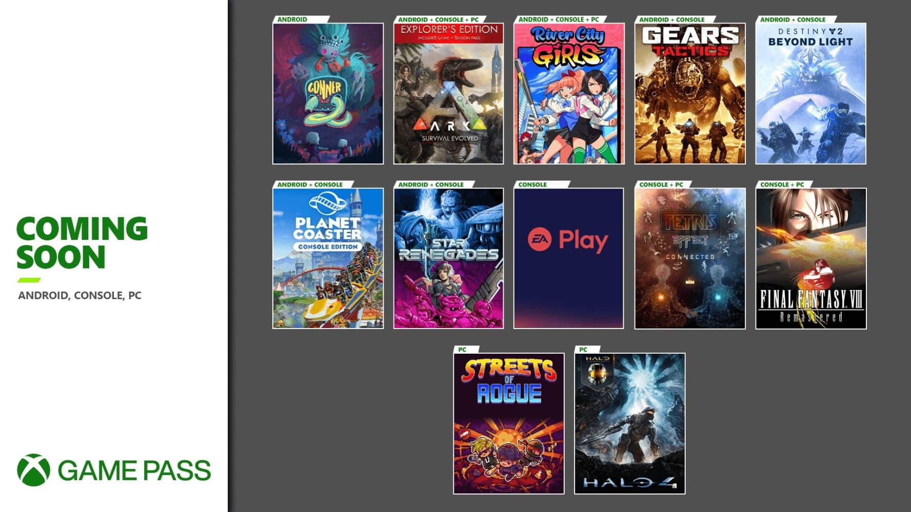 Confirmados los juegos que se unirán a Xbox Game Pass próximamente 1