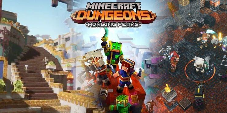 El DLC Howling Peaks de Minecraft Dungeons ya tiene fecha de lanzamiento 2