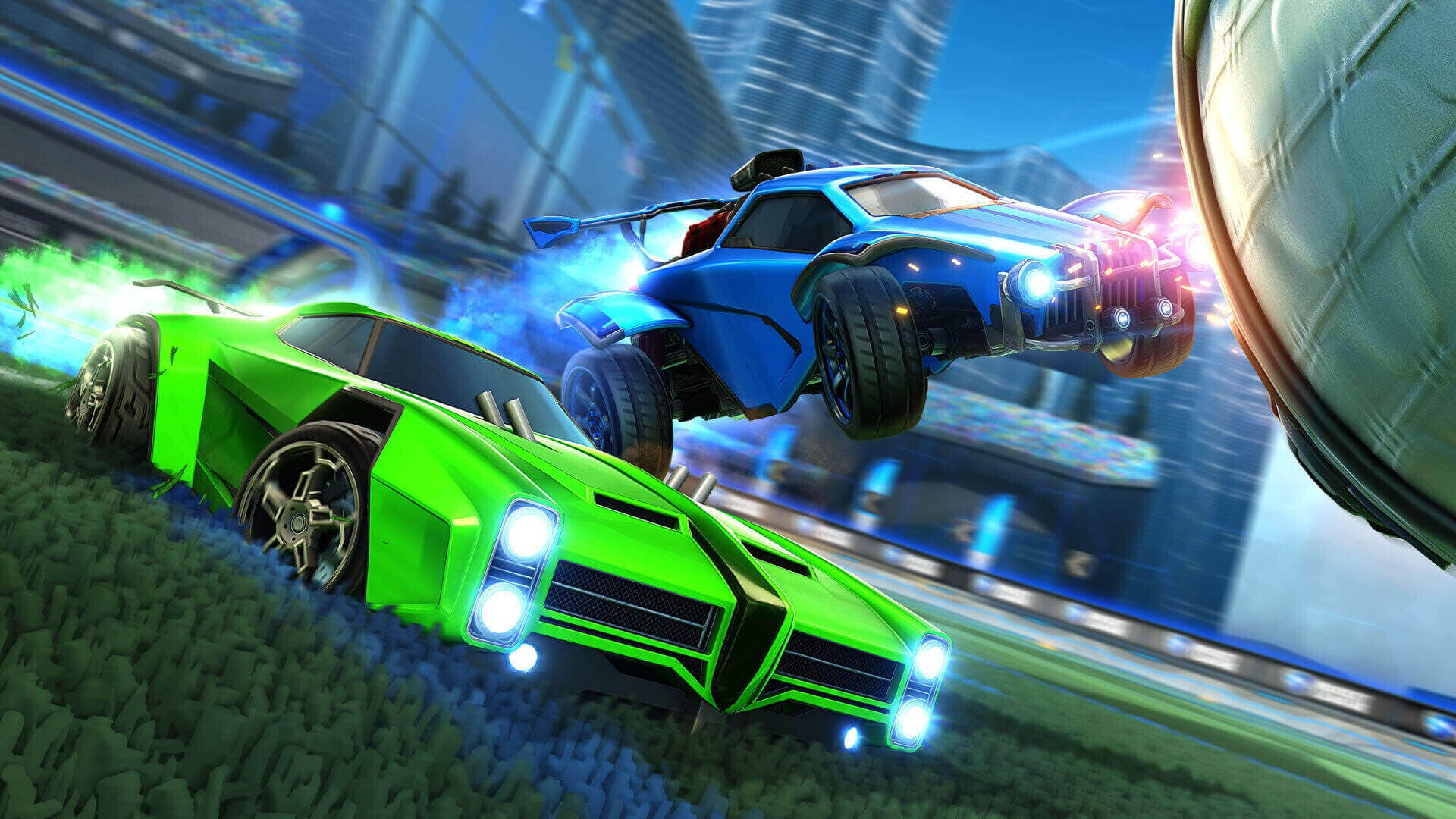 Rocket League at 120 FPS on Xbox Series X | S and not on PS5