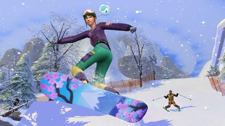 Vacaciones y encanto japonés con Los Sims 4: Escapada en la nieve 1