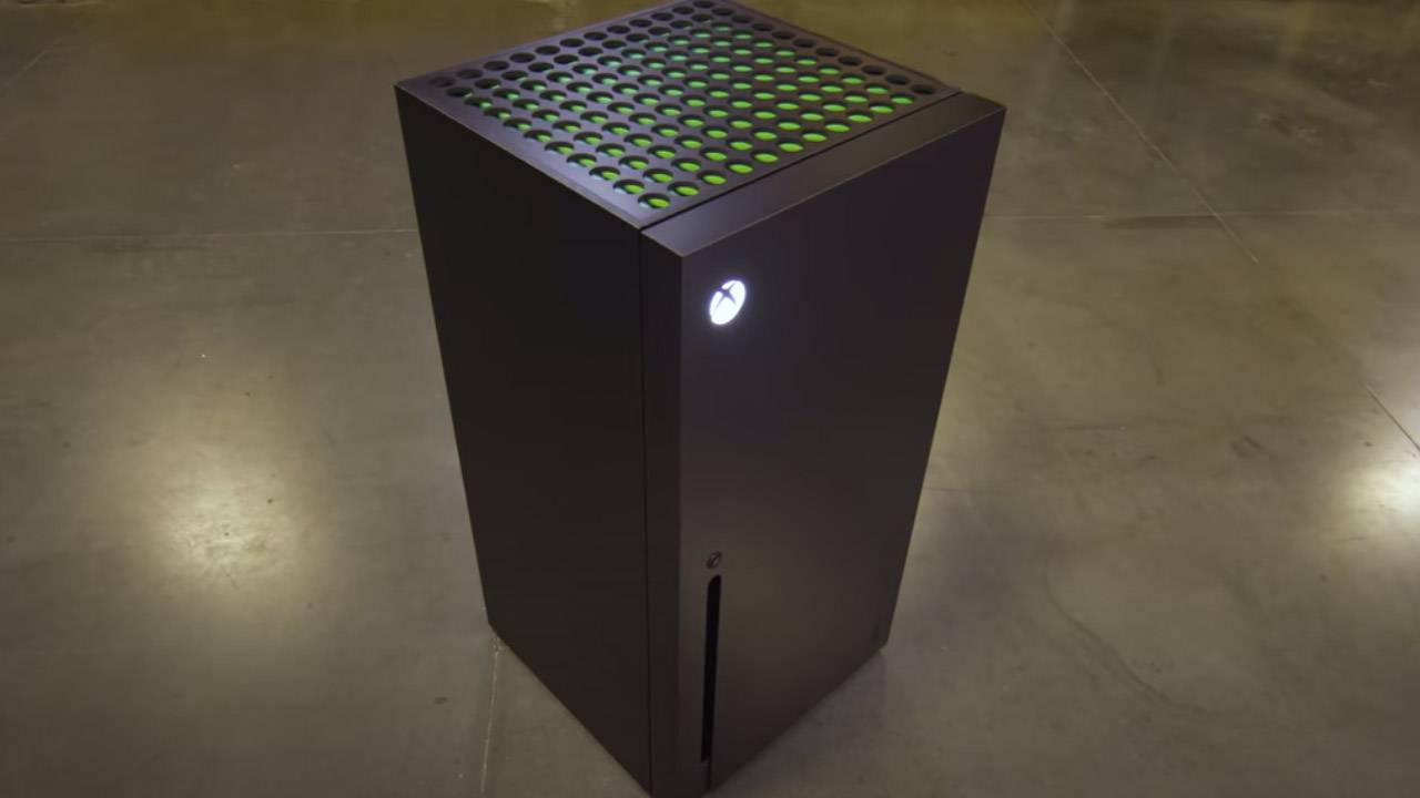 Así es la fabulosa mini nevera de Xbox Series X