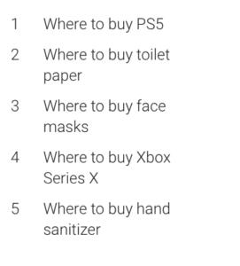 Xbox Series X fue el 4 producto más buscado del año en Google
