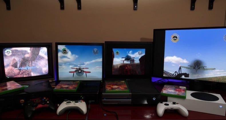 Solo en Xbox cuatro generaciones de consolas pueden jugar el mismo juego juntas 1