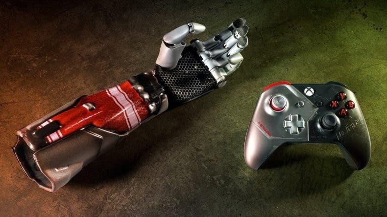 Xbox sortea el mando personalizado de Cyberpunk 2077 y un brazo biónico que puedes usar 1