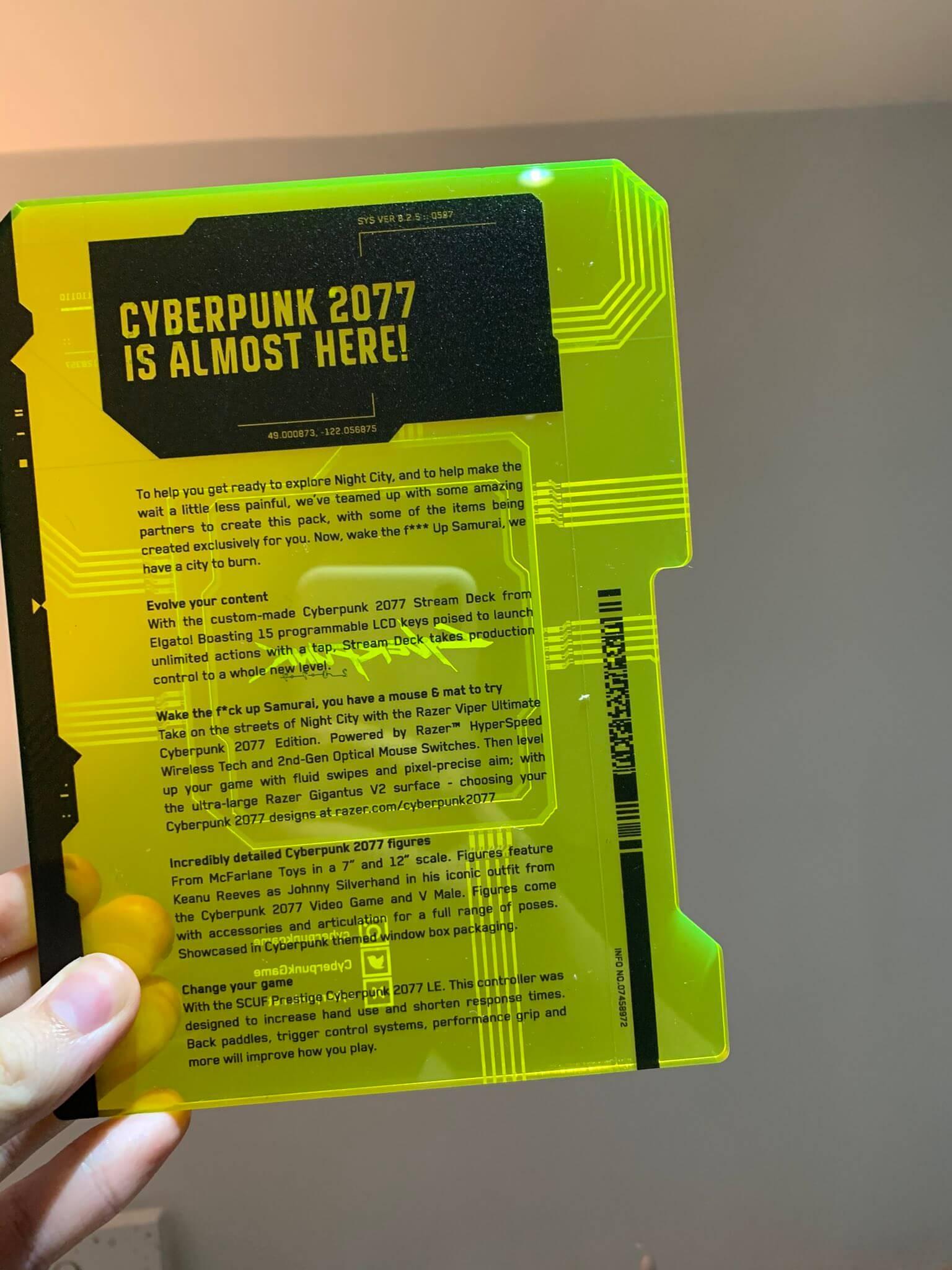 Press Kit de Cyberpunk 2077