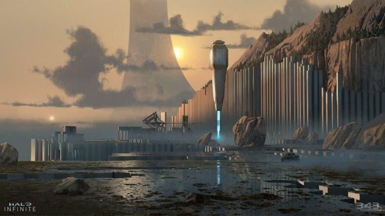343 Industries habla sobre la creación del mapa de Halo Infinite