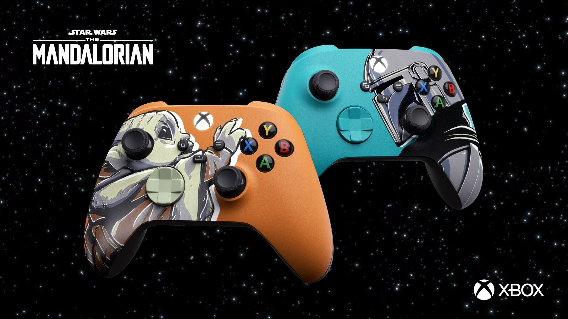mandos de Xbox Series de The Mandalorian