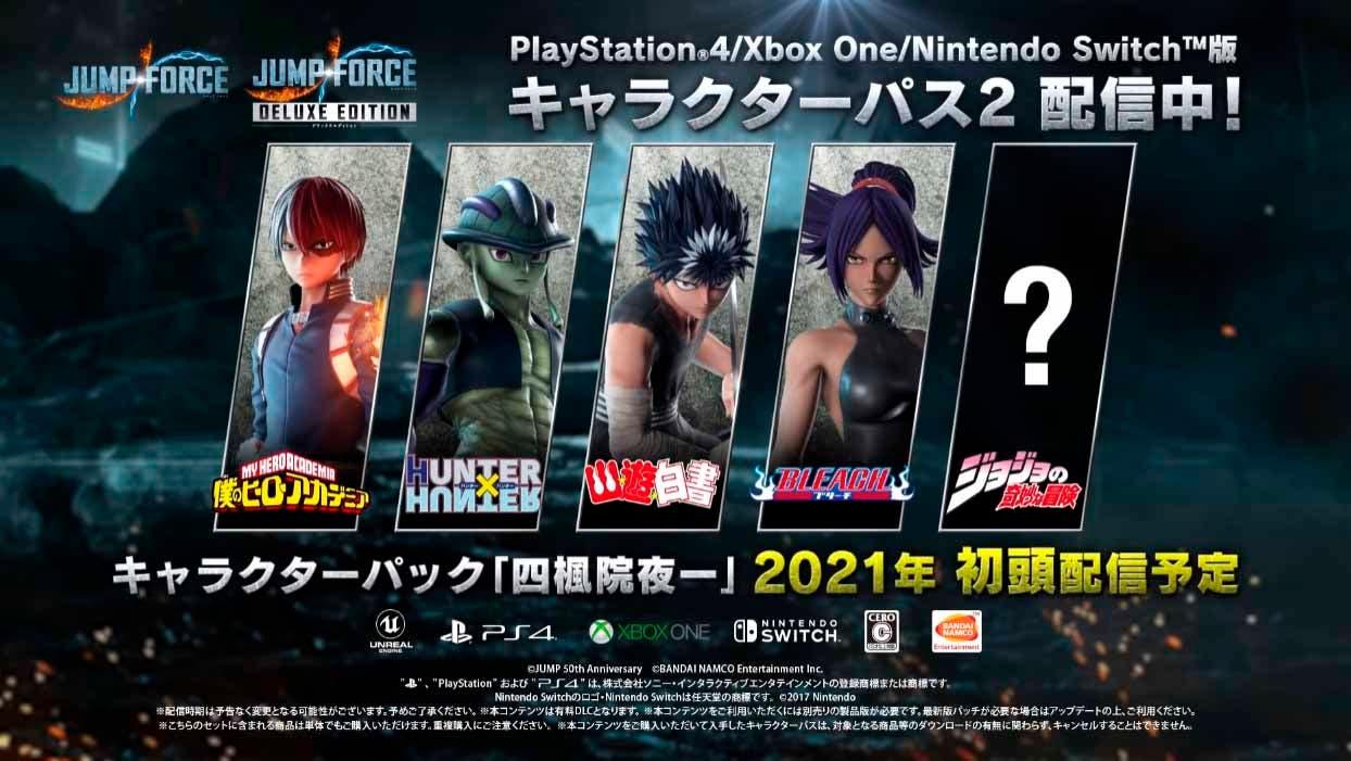 Nuevos tráilers presentan la próxima luchadora de Jump Force, Yuroichi 2