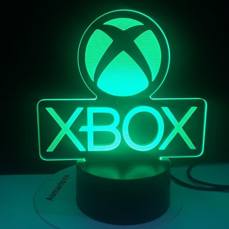 Sube el nivel de tu salón con esta lámpara de Xbox 1