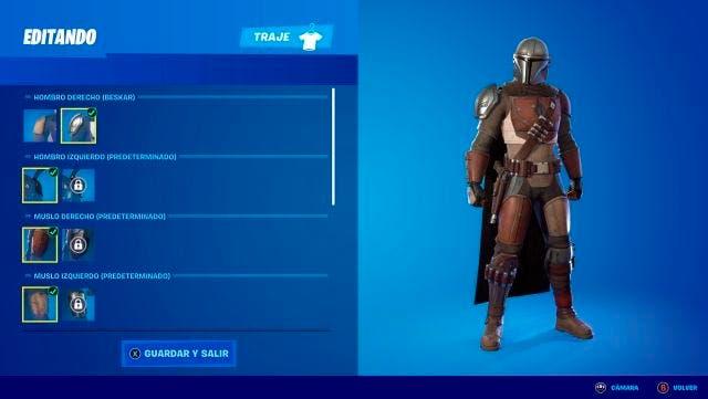 Así puedes conseguir la skin de The Mandalorian en Fortnite