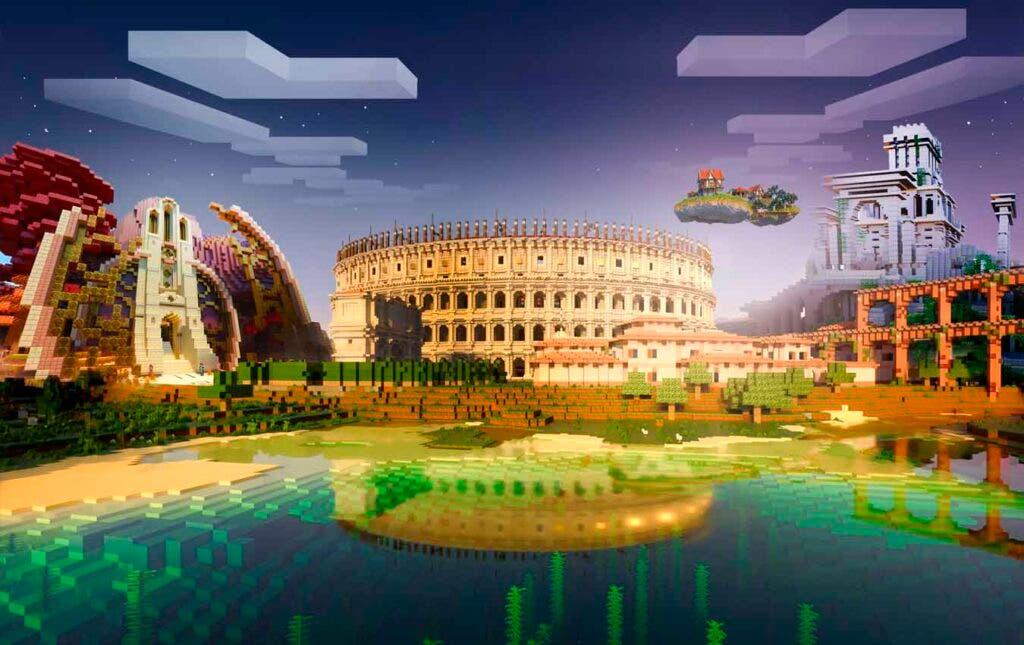Minecraft alcanzó 140 millones de usuarios mensuales