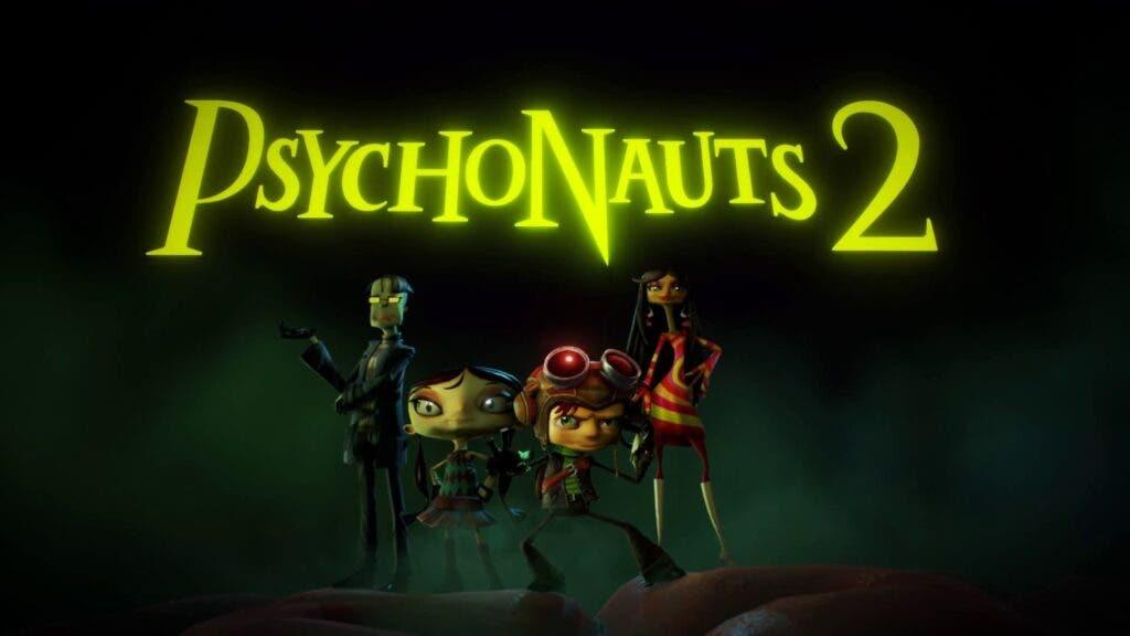 Psychonauts 2 está cerca de ser terminado