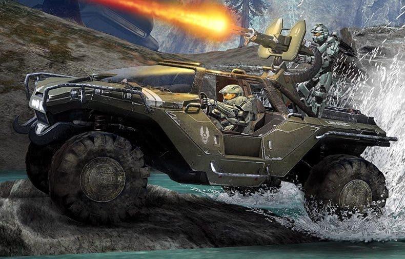 El Warthog podría llegar Fortnite con su torreta funcional según filtración 1