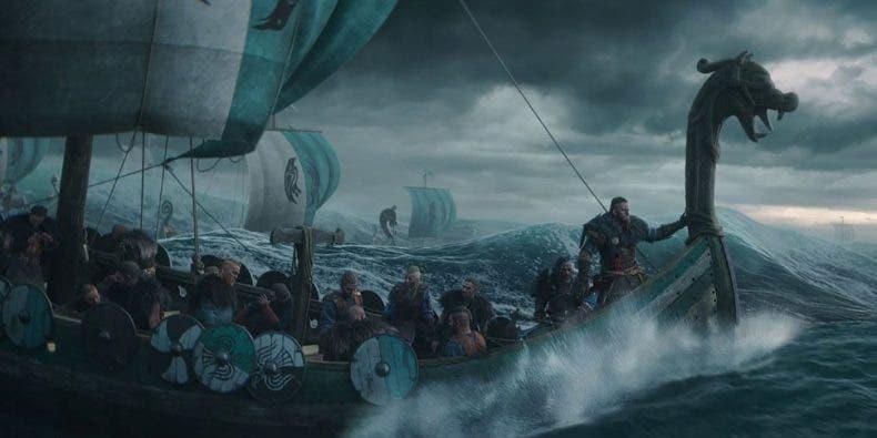 Assassin's Creed Valhalla podría haber tenido batallas navales