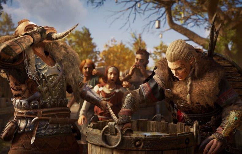 Un bug de Assassin's Creed Valhalla hace que Eivor esté borracho cada vez que cargas partida 1