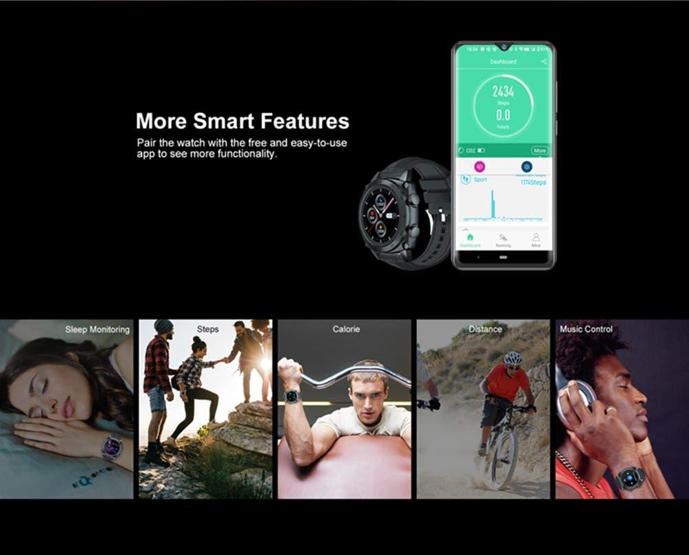 Review smartwatch Cubot C3 4