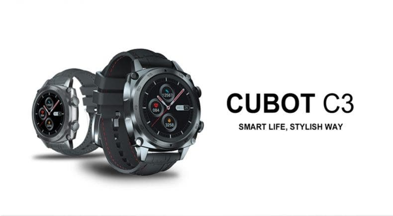Review smartwatch Cubot C3 1