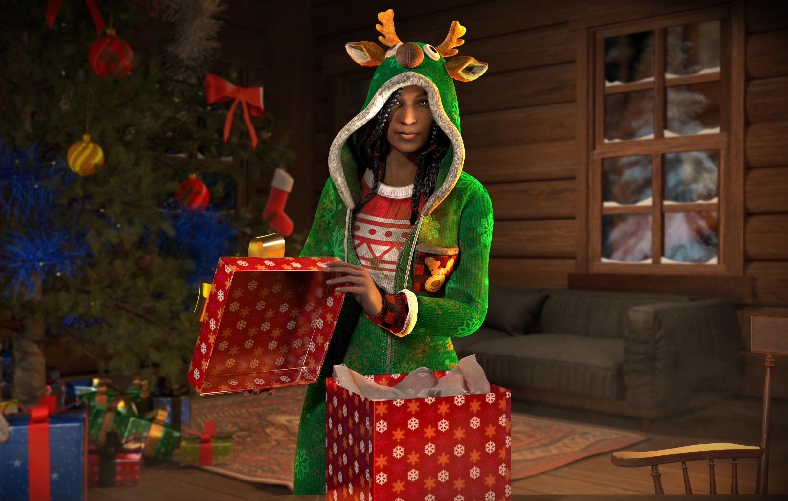 Así son las skins de Navidad de Dead by Daylight 4