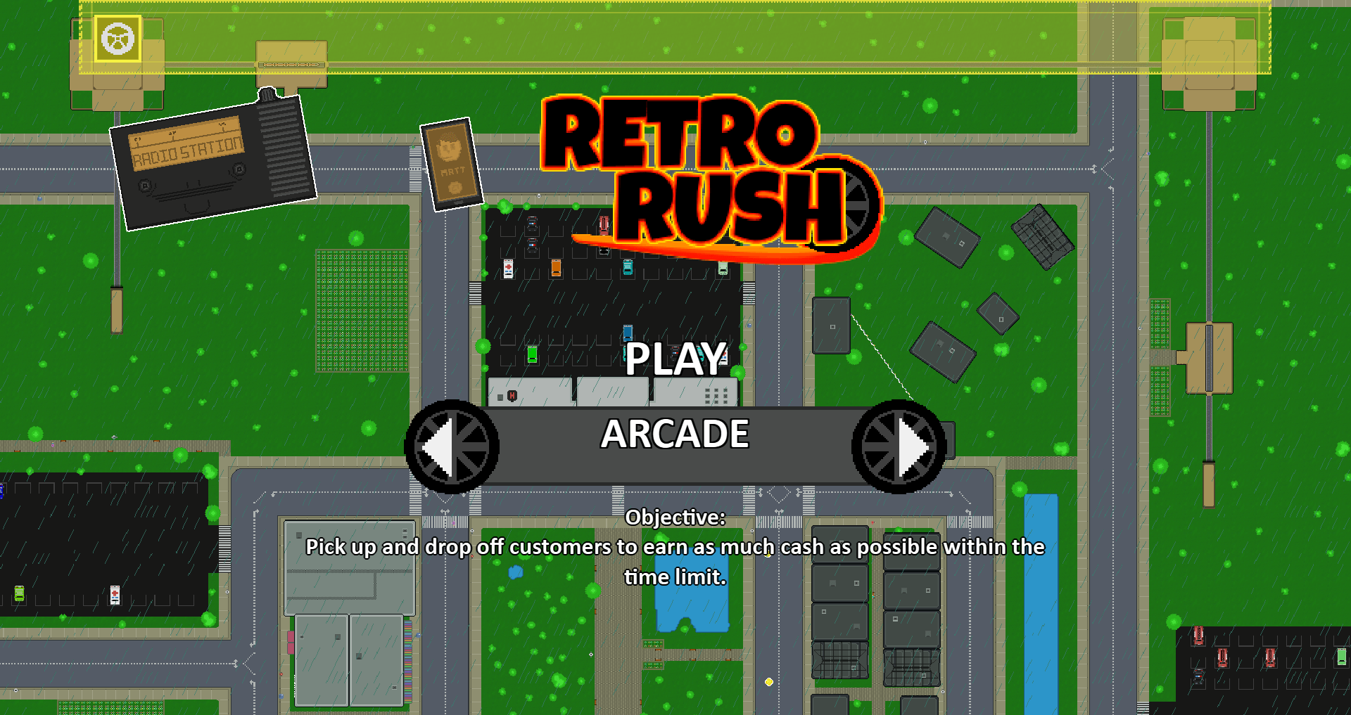 Consigue gratis Retro Rush gratis para Xbox y PC