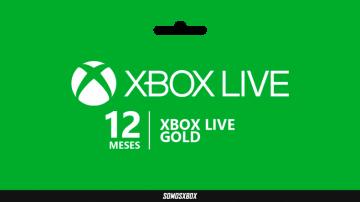 Gran oferta de 12 Meses de Xbox Live Gold 5
