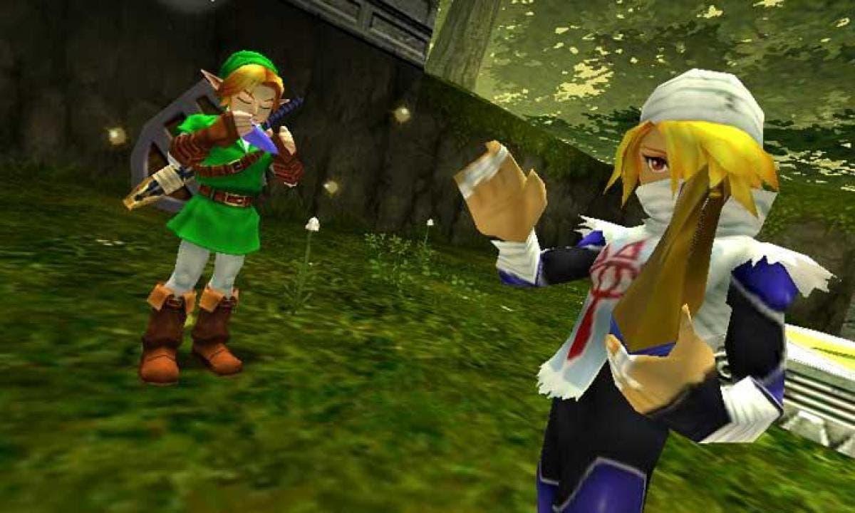 Ya puedes jugar gratuitamente Zelda Ocarina of Time en Minecraft 2