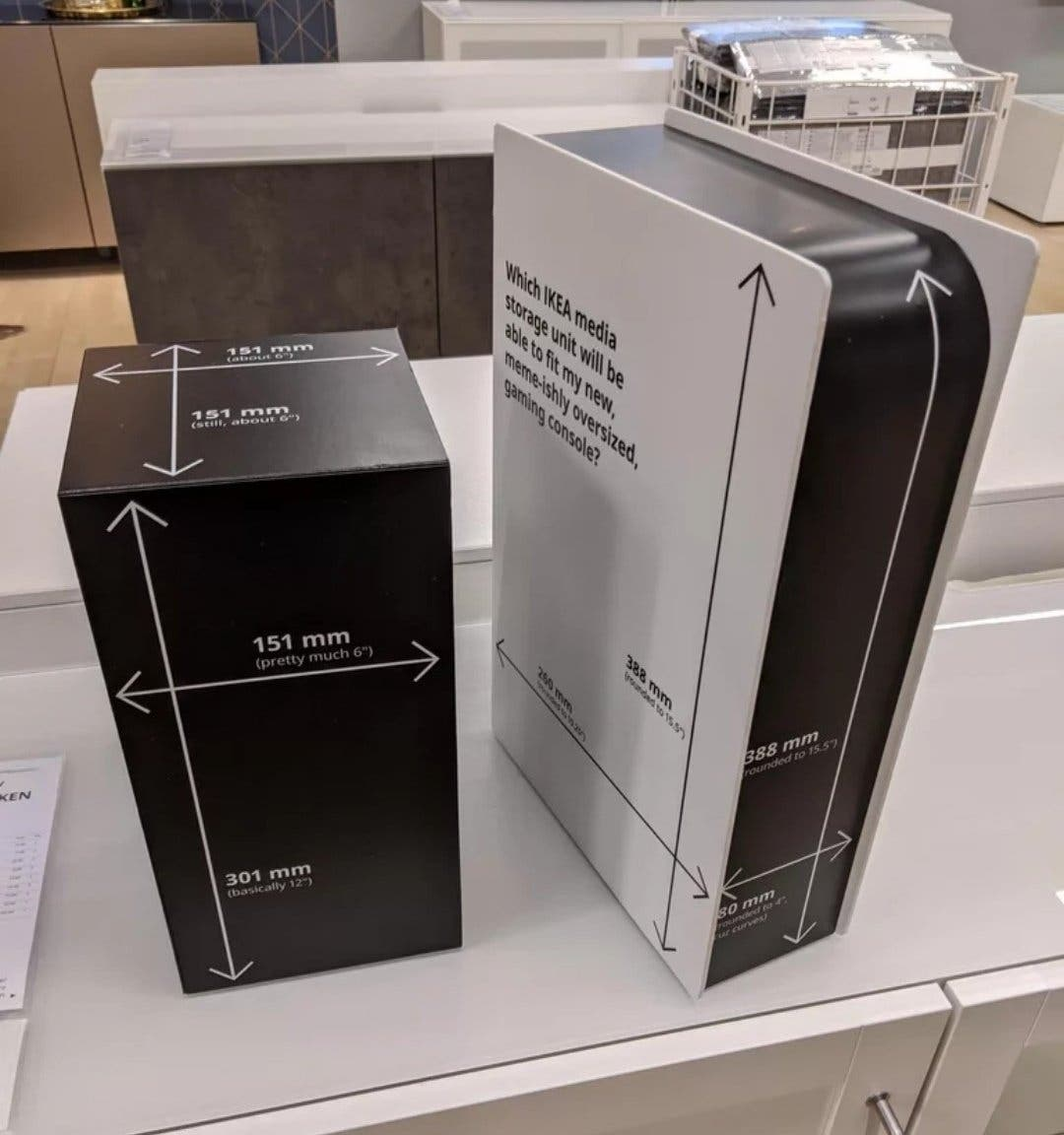 Ikea cuenta con una Xbox Series X de cartón