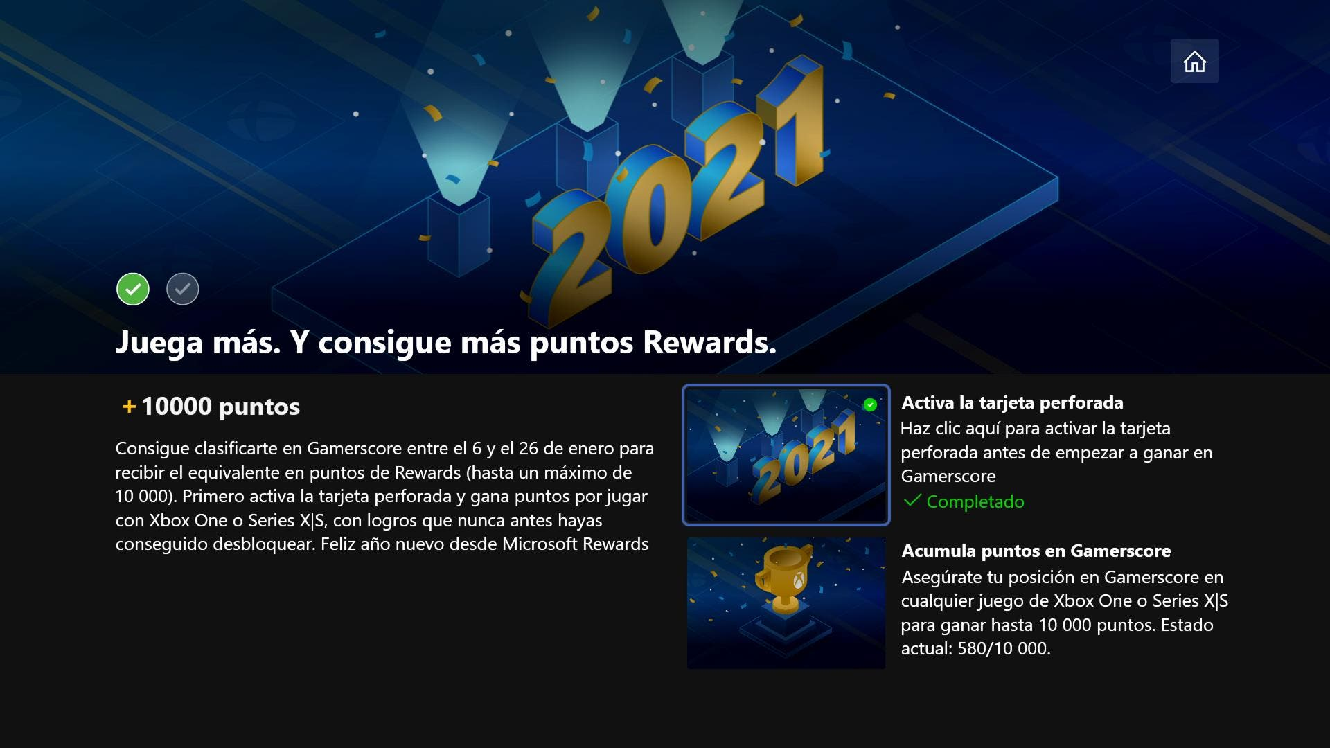 Consigue hasta 10000 puntos de Microsoft Rewards