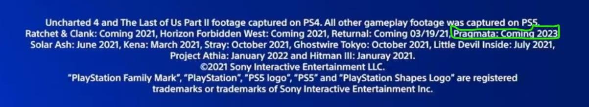 fecha de lanzamiento de Pragmata para Xbox Series X