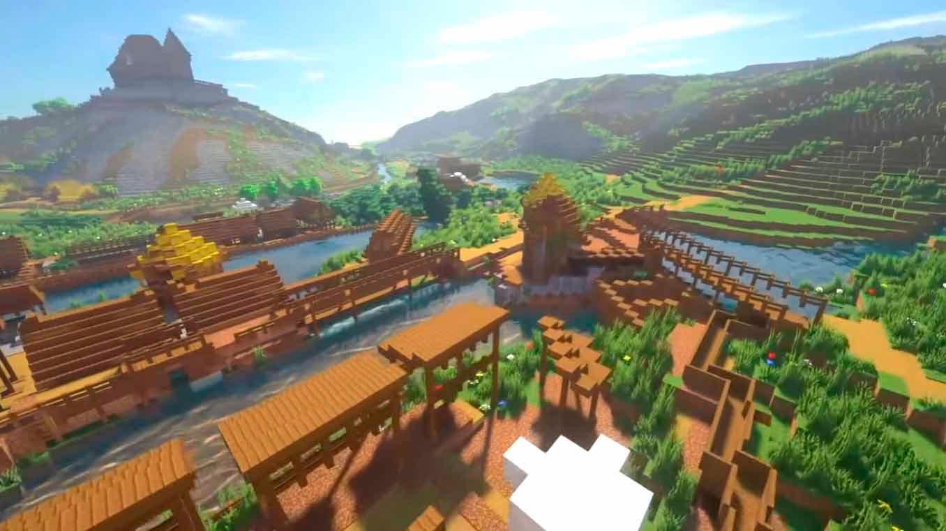 Presentan el remake de Kingdom Come Deliverance en Minecraft 2
