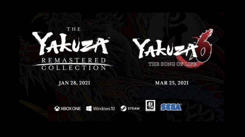 The Yakuza Remastered Collection y Yakuza 6 llegan de salida a Xbox Game Pass 3