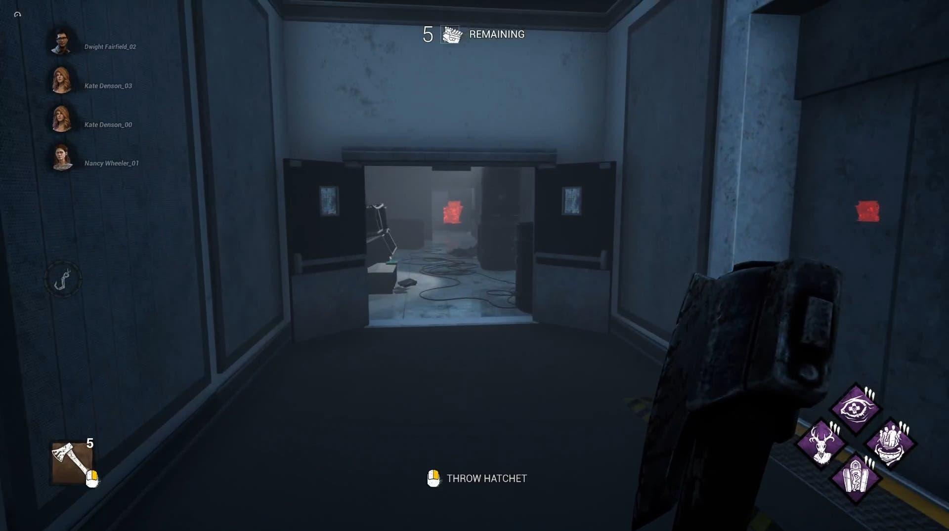 Así es la nueva interfaz de Dead by Daylight durante las partidas 3
