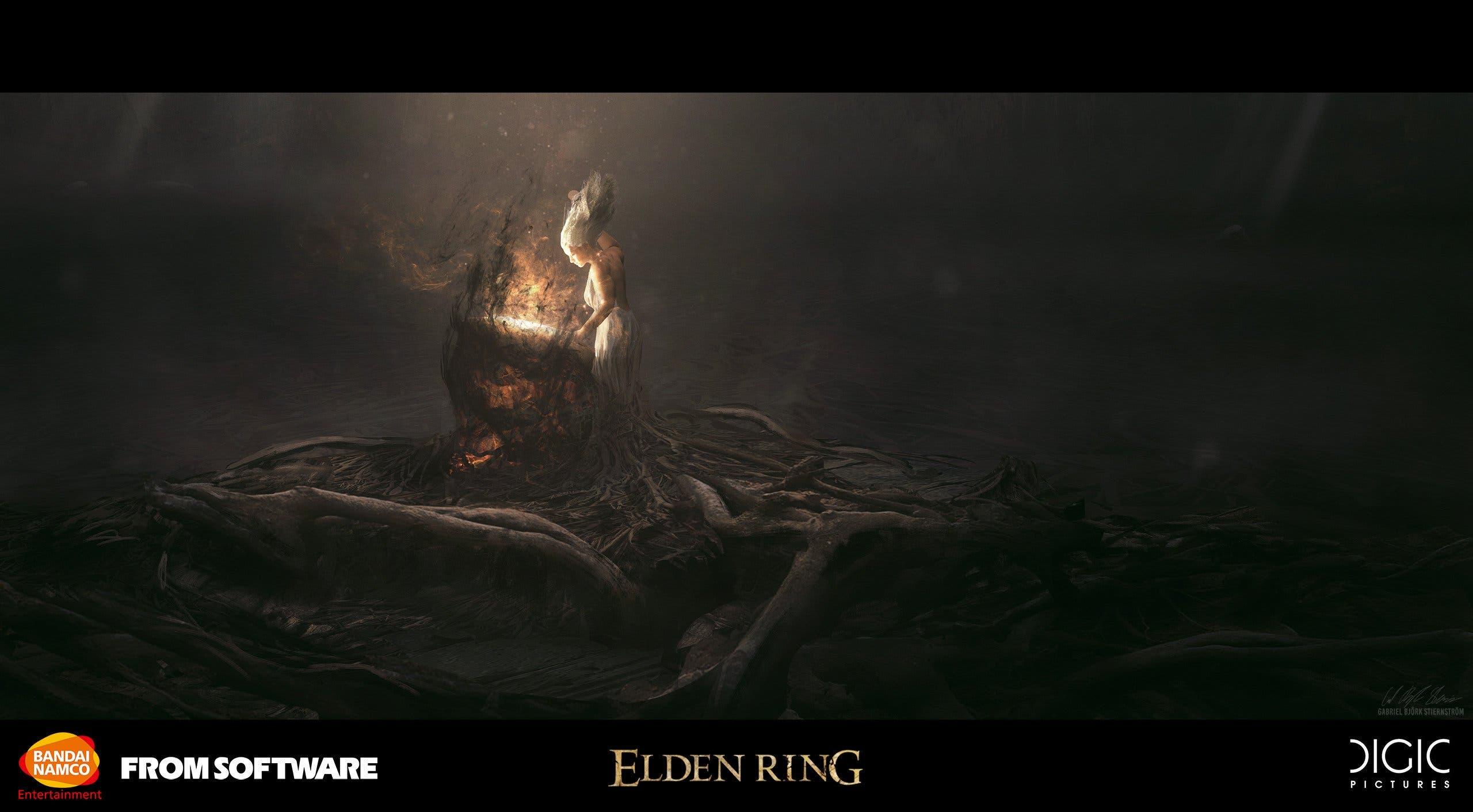 artes conceptuales de Elden Ring