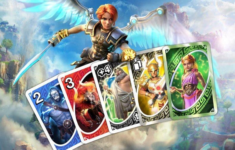 Immortals Fenyx Rising llega al juego de cartas UNO en forma de DLC 1
