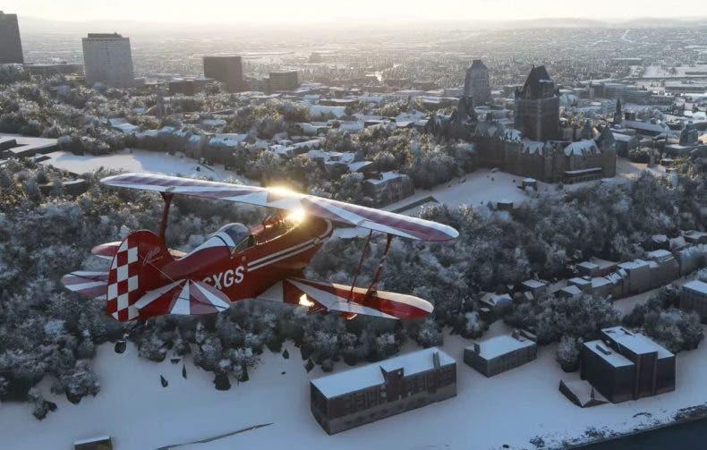 Microsoft Flight Simulator muestra en vídeo su nuevo efecto de nieve 1