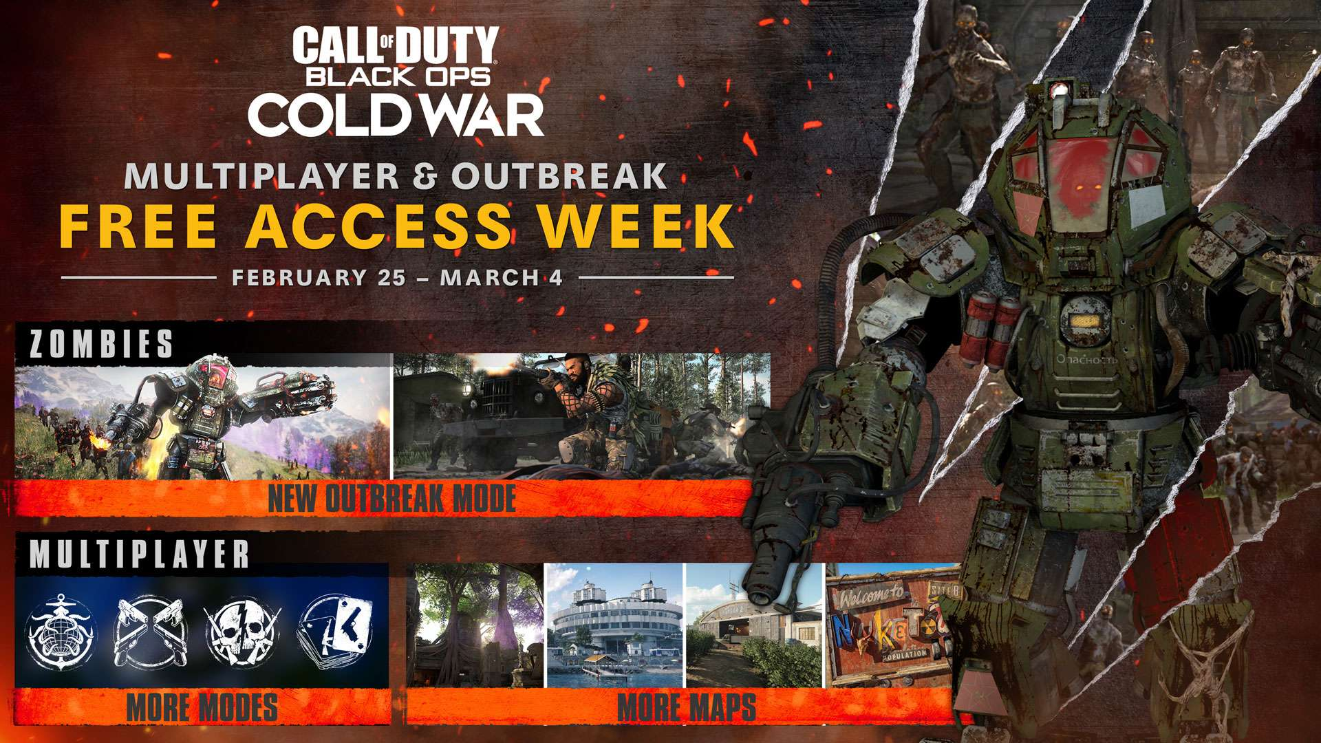 Call of Duty Black Ops Cold War multiplayer free