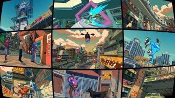 Presentan Bomb Rush Cyberfunk con un tráiler mostrando un arcade de la vieja escuela 9