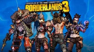 Ya está disponible el crossplay entre plataformas en Borderlands 3, aunque Playstation se queda fuera 3