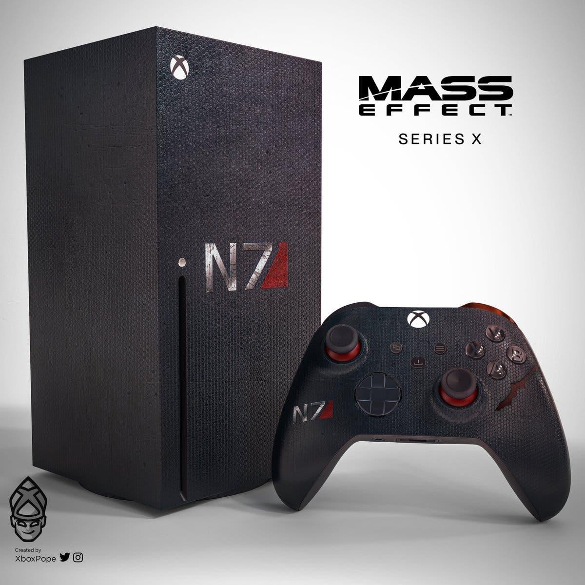 Xbox Series X de Mass Effect