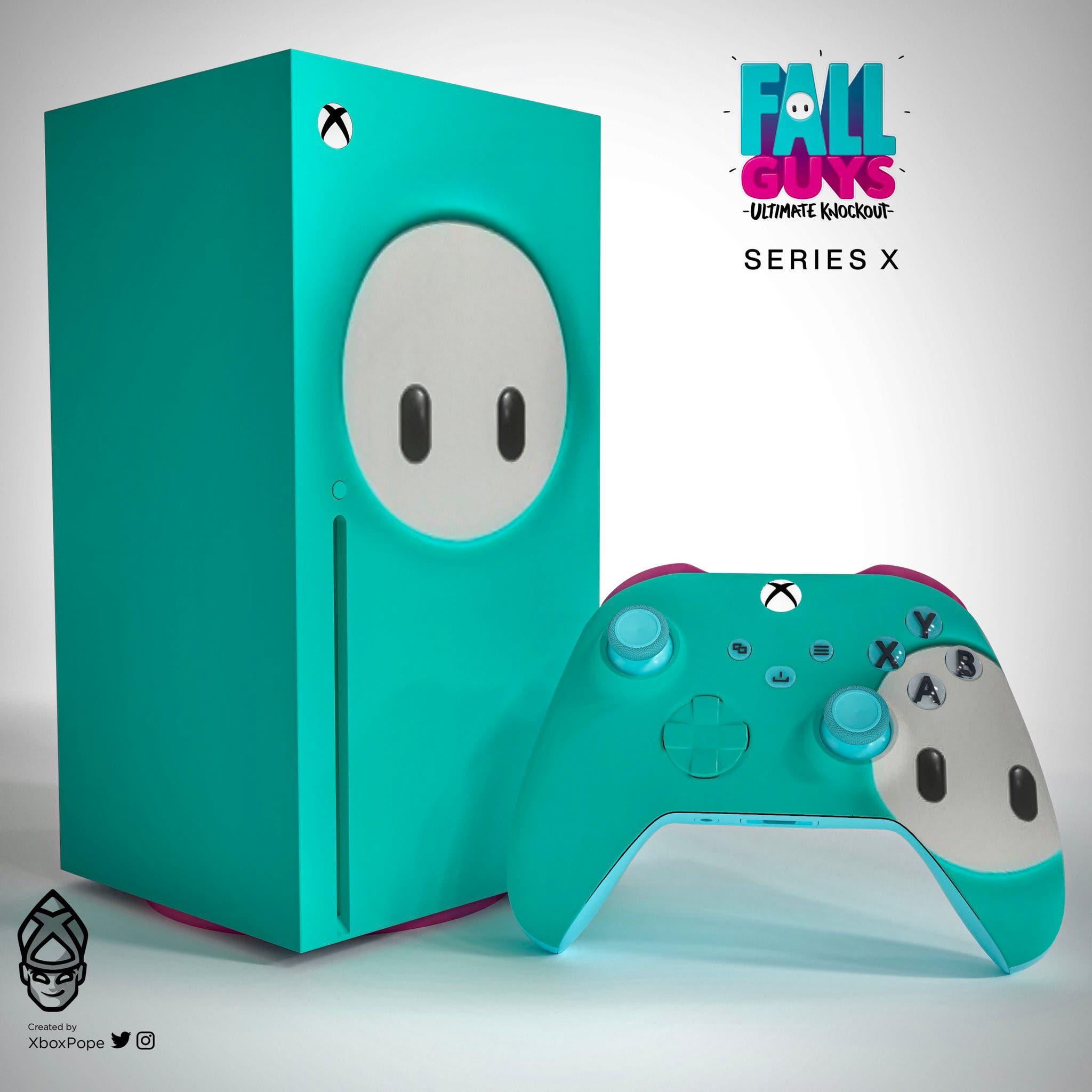 Xbox Series X de Fall Guys