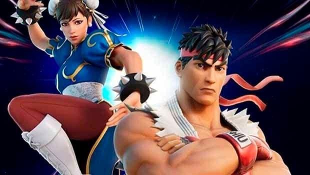 Llegan nuevos combatientes a Fornite de la mano de Street Fighter 1