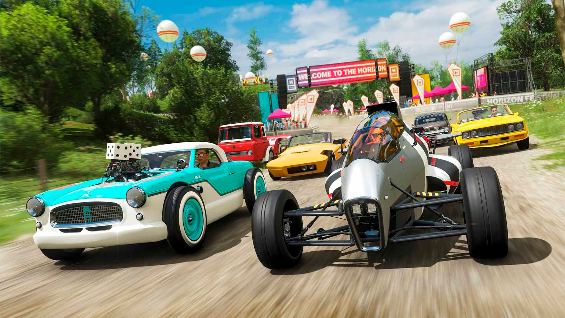 Los coches de Hot Wheels llegan a Forza Horizon 4 en un nuevo pack de contenidos 5