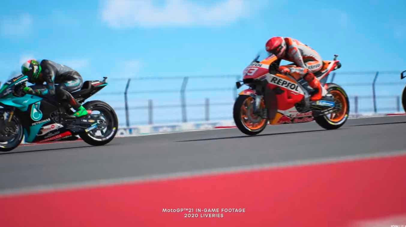 MotoGP 21 llegará en abril a consolas Xbox, con mejoras para Xbox Series X/S 2