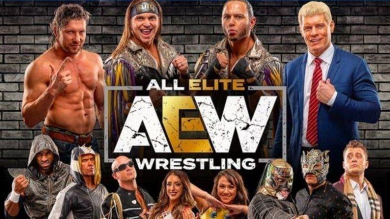 La nueva IP de lucha libre AEW saldrá a la venta en 2022