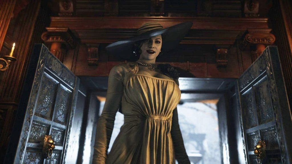 height of Lady Dimitrescu from Resident Evil 8