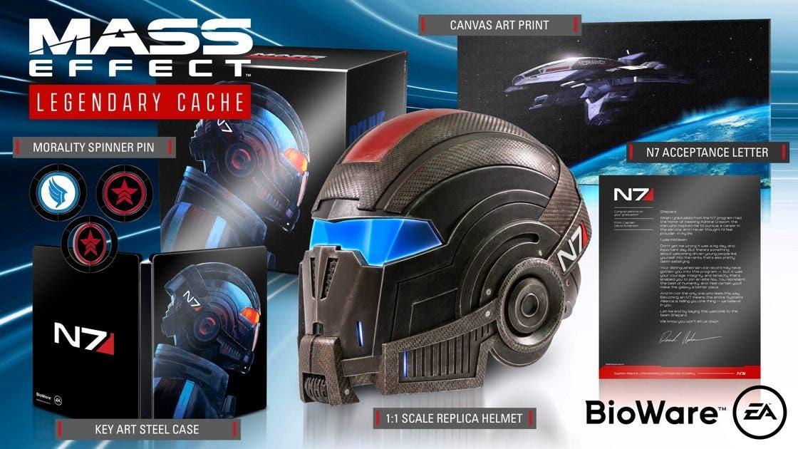 edición coleccionista de Mass Effect Legendary Edition