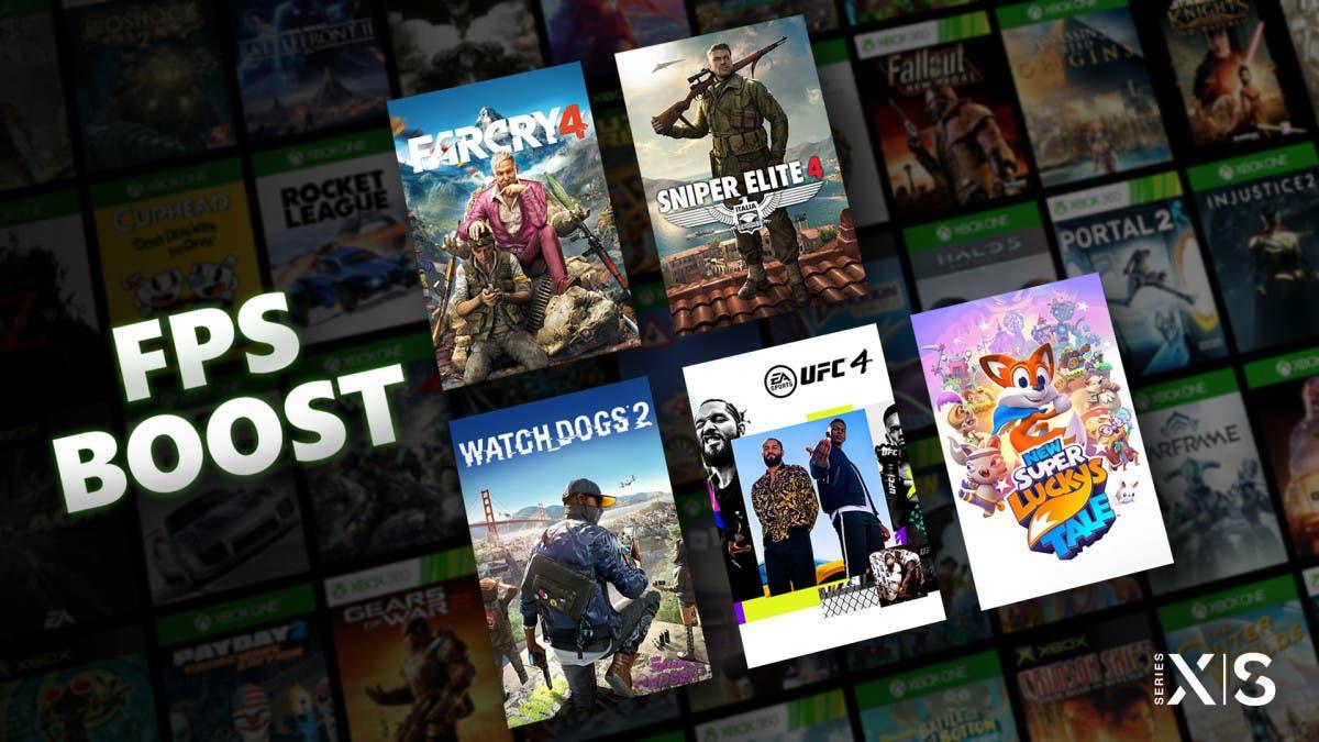 juegos mejorados con FPS Boost